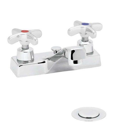 Speakman Commander Centerset Bathroom Faucet with Double Cross Handles