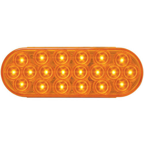 Grand General Red Oval Fleet 20 LED Stop/Turn/Tail Sealed Light