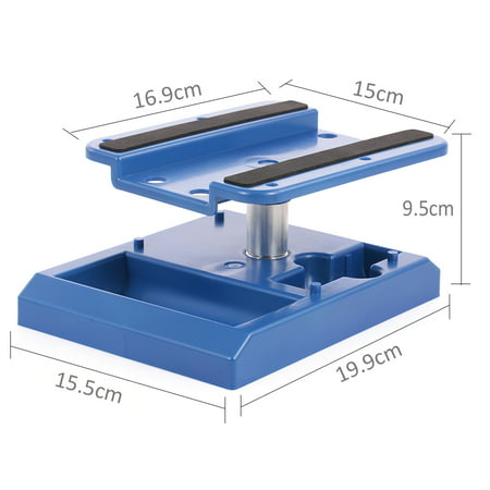 RC Car Truck Work Stand Workstation 360 Degree Rotation for 1/8 1/10 1/12 Scale Cars Trucks (1/8 Scale Buggy Tire)