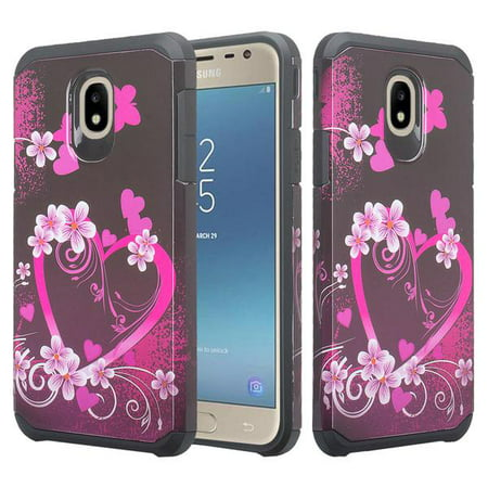 For Tracfone/StraightTalk Samsung Galaxy J3 Orbit (S367VL) Case Hybrid  Shockproof Drop Protection Impact Rugged Heavy Duty Dual Layer Armor Case -  Hot