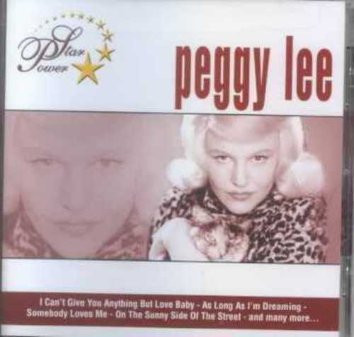 STAR POWER: PEGGY LEE