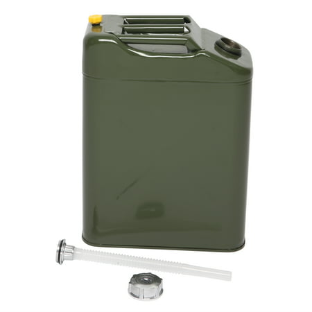 Ktaxon Portable 5 Gallon Jerry Can Steel Caddy Tank, for Fuel Oil Gas Gasoline Petrol Diesel Storage, EU Style Jerry Can Carrier
