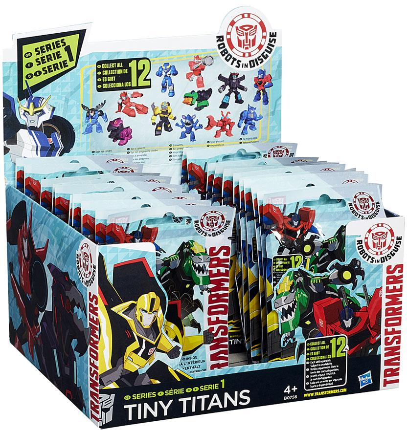 Transformers Robots in Disguise Tiny Titans Series 1 2 Mystery Box by Hasbro