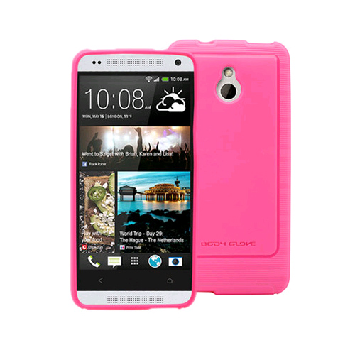 Body Glove Dimensions Series Case with Pulse Pattern for Htc One Mini (Raspberry) 9359201 by Body Glove