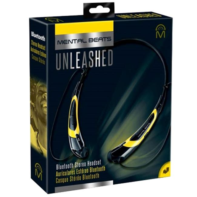 Mental Beats 562 Mental Beats Bluetooth Unleashed Earbuds, Yellow
