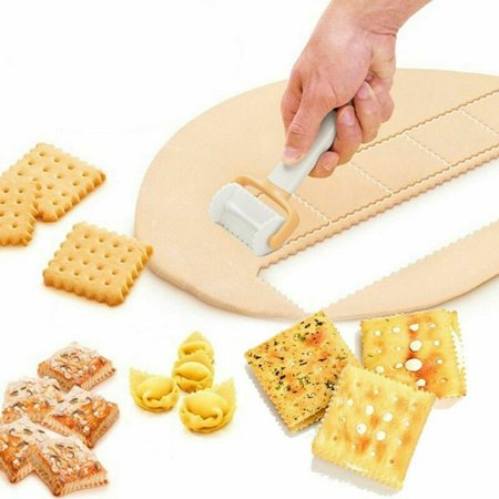 KABOER Fondant Cake Tool Icing Spatula Cookie Roll Biscuit Dough Cutter High (Best Way To Roll Out Sugar Cookie Dough)