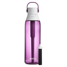 c257c5c53c Brita 26 Ounce Premium Filtering Water Bottle with Filter - BPA Free -  Orchid