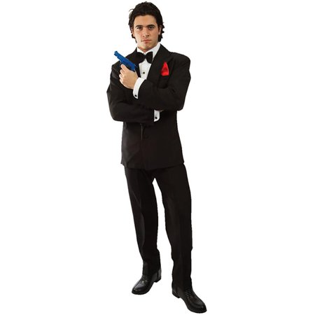 James Bond Girl Costumes Halloween (007 James Bond Adult Costume)