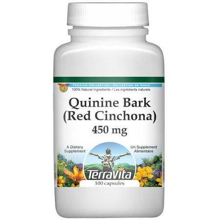 (Quinine Bark (Red Cinchona) - 450 mg (100 capsules, ZIN: 513831))