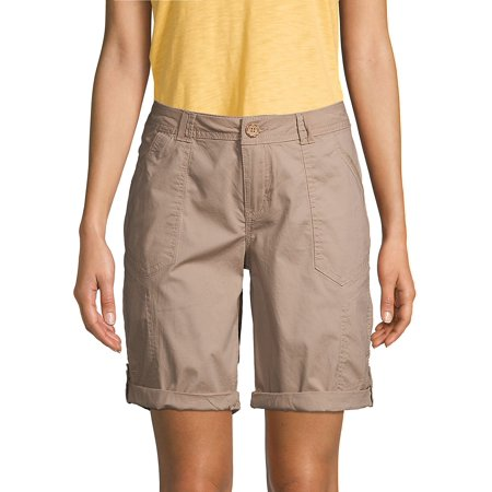 Cuffed Bermuda Shorts Belted Cuffed Shorts