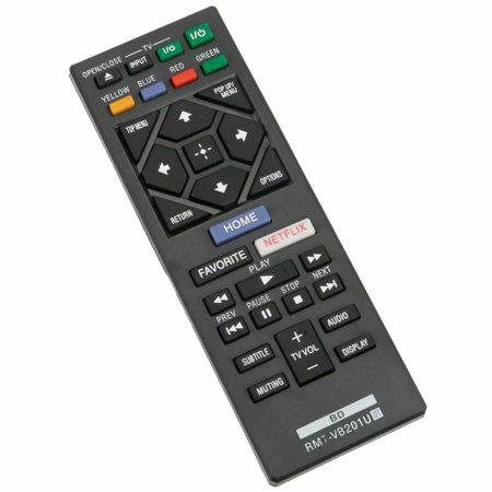 New RMT-VB201U RMTVB201U Replacement Remote Control for Sony Blu-ray Disc Player BDP-S3700 BDP-BX370 (Dsc Control)