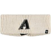 Arizona Diamondbacks '47 Women's Meeko Knit Headband - Cream - OSFA