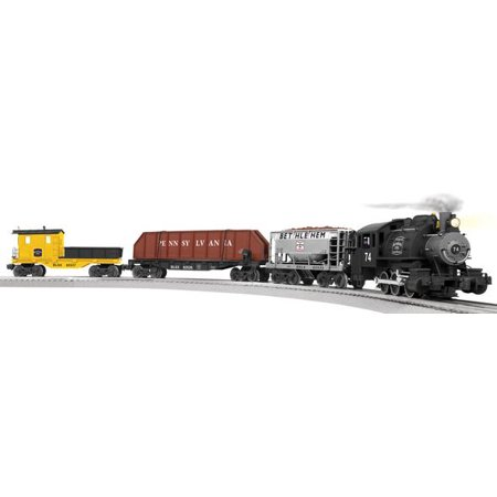 Lionel 6 81270 O Bethlehem Steel Lionchief Work Train Set  W Remote Control