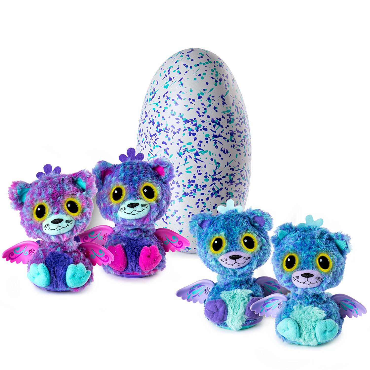 Hatchimals Surprise - Peacat (Hatching Egg with Surprise Twin Interactive Hatchimal Creatures by Spin Master)