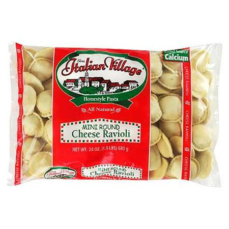 Rosina Italian Village Mini Cheese Ravioli, 24 oz
