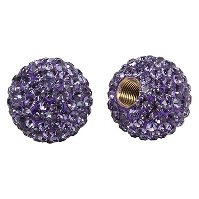 CRUISER CANDY VALVE CAPS C-CANDY BLING VIOLET - Bottle Caps Candy