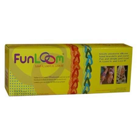 Rubber Band Bracelet Kit - Not Rainbow Loom, but works with Rainbow Loom stuff., Fun Loom Features By FunLoom