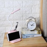 WALFRONT Multifunctional Desk Lamp LED Table Light USB Charging Touch Switch for Bed Desk Room