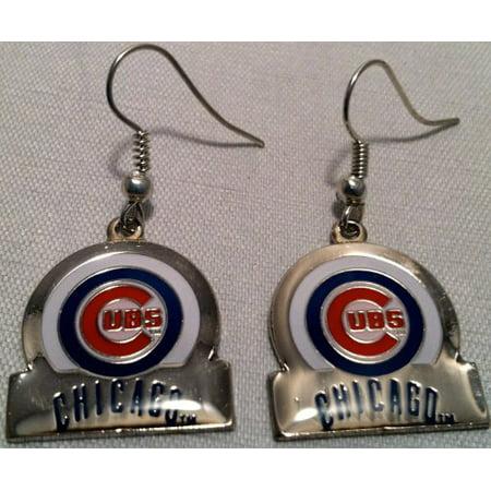 Mlb Chicago Cubs Earrings