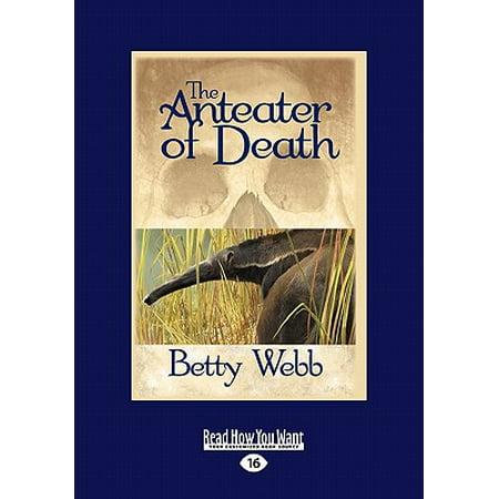 The Anteater of Death : A Gunn Zoo Mystery (Easyread Large (Best Of Gia Gunn)