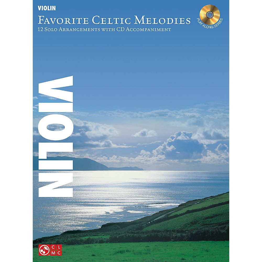 Hal Leonard Favorite Celtic Melodies For Violin Book/CD