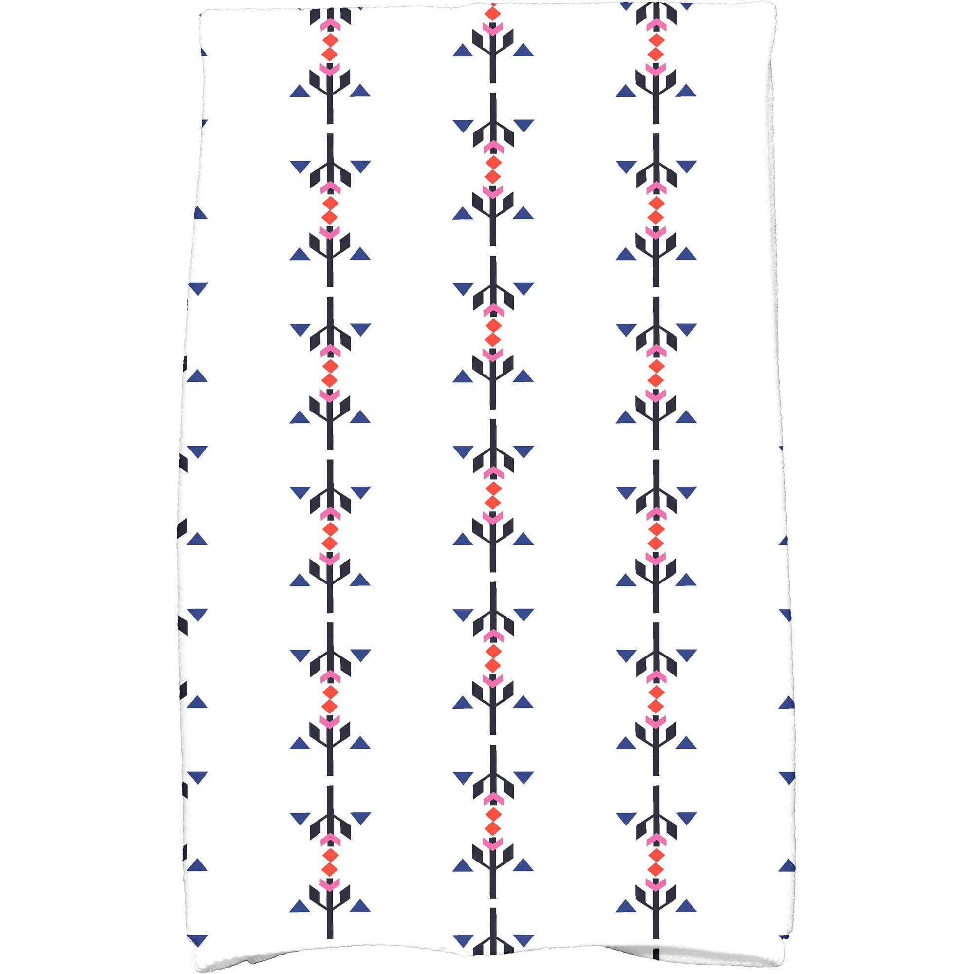"Simply Daisy 16"" x 25"" Jodhpur Stripe Stripe Print Kitchen Towel by E By Design"