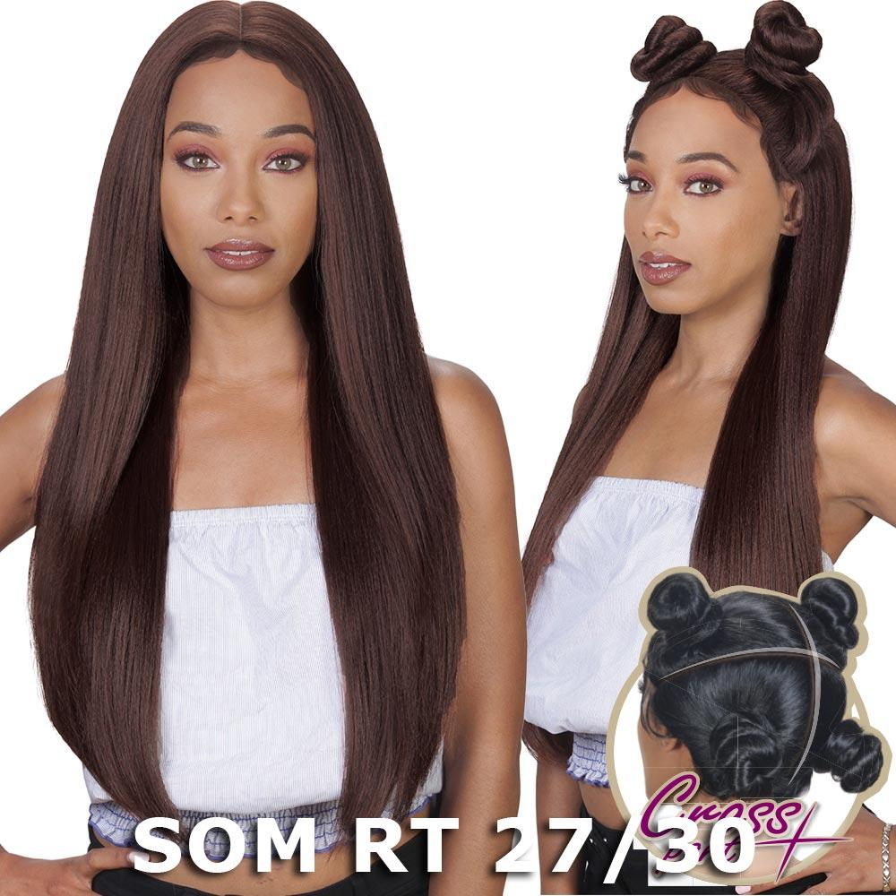 Sis 360 Cross Part Lace Front Wig - STRAIGHT (Blonde)
