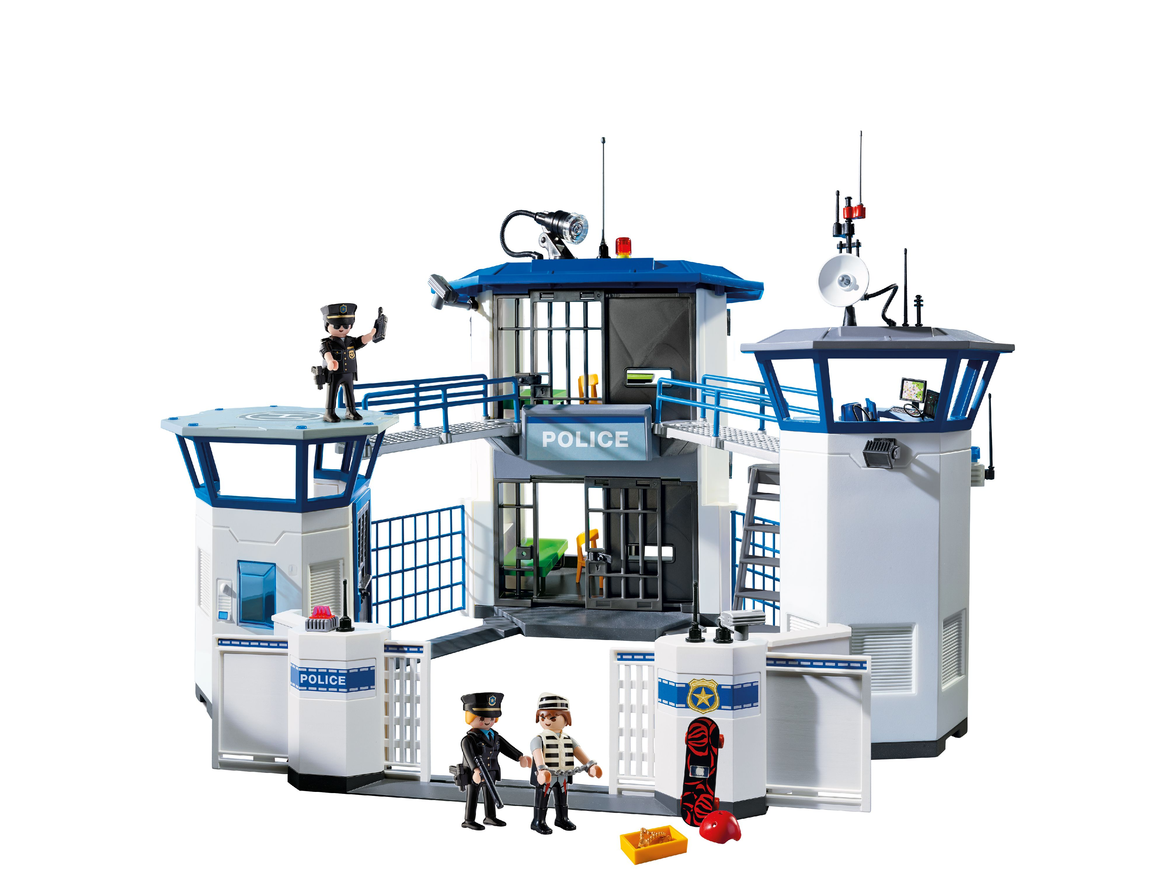 PLAYMOBIL Police Headquarters with Prison by PLAYMOBIL
