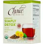Choice Organic Teas - Organic Simply Detox Tea - 16 Bags