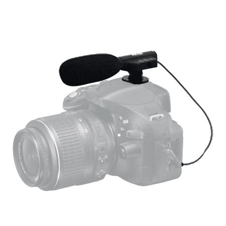 Vivitar Universal Mini Microphone MIC-403 for Panasonic HC-V770 Camcorder External