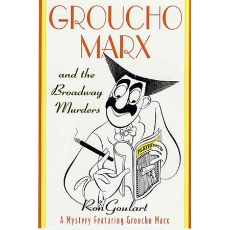 Groucho Marx and the Broadway Murders - eBook - Groucho Marx Glasses