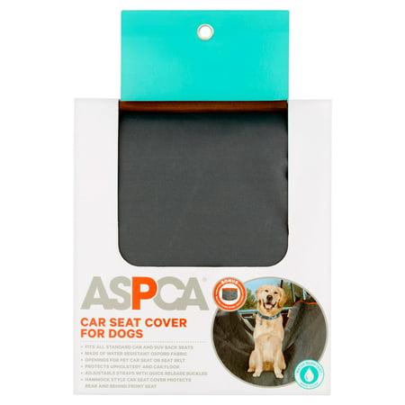 ASPCA Car Seat Cover for Dogs, Dark Gray ()