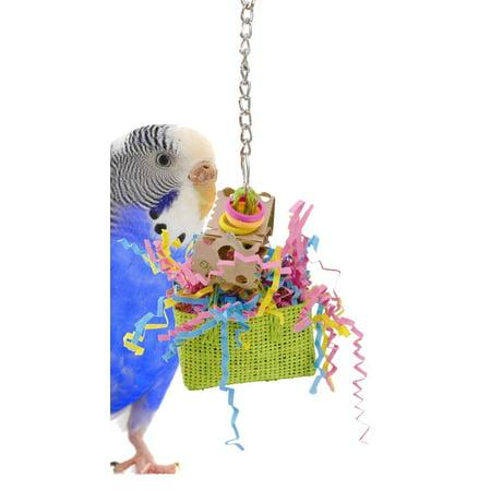 1070 Swiss Bag Bird Toy
