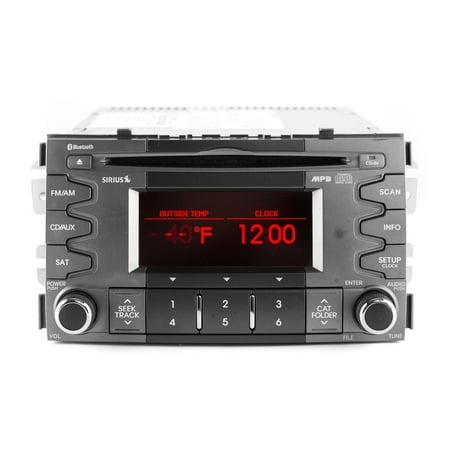 2010-2011 Kia Soul AM FM MP3 Radio CD Player w Bluetooth Music - 96150-2K205AMAL - Refurbished