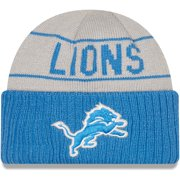 Detroit Lions New Era Reversible Cuffed Knit Hat - Silver/Blue - OSFA