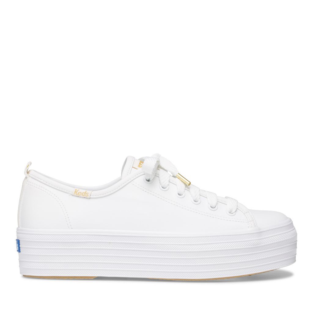 Keds Women's Triple Up Leather Sneakers