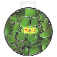 Makin's USA Clay Cutters, Geometric, 22 Per Package