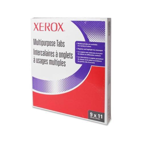 Xerox Docutech 3-Hole 1-5 White Index Tabs XER3R4416