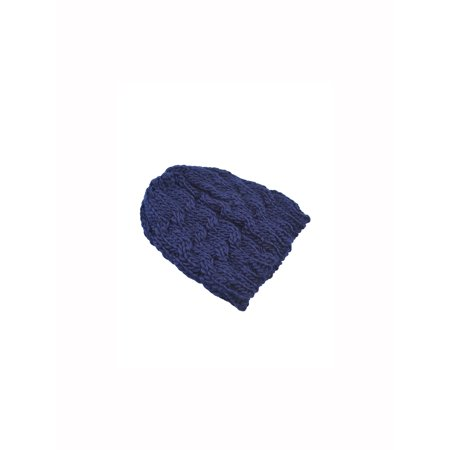 0aa20b0e6d6 Unique Bargains Unisex Cable Knit Stretchy Soft Slouchy Beanie Hat - image  1 of 1 ...