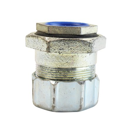 Insulated Liquid Tight (Thomas & Betts TC 5365 Liquid Tight Flex Metal Conduit Connector Insulated (Pack of)