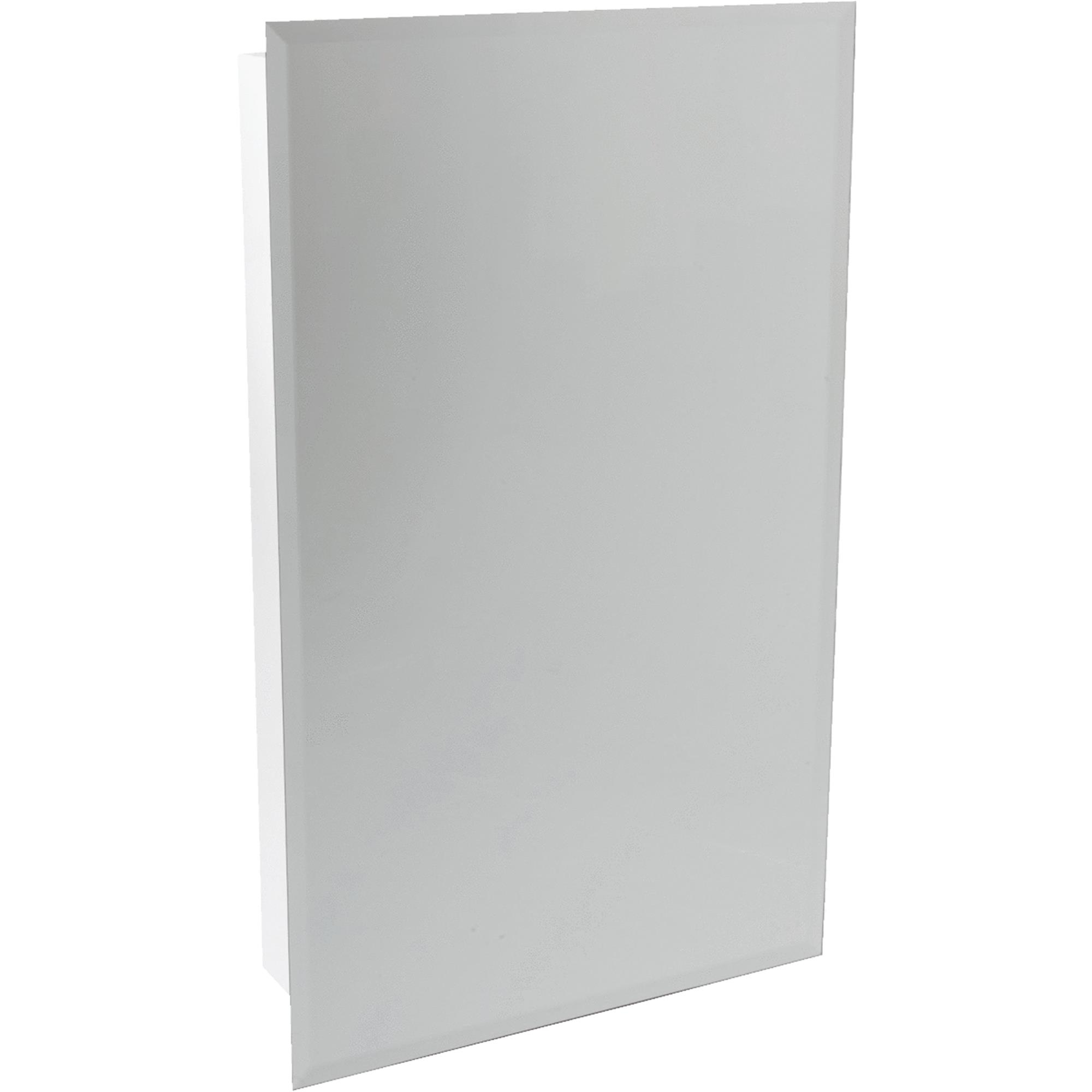 "Continental Cabinets 16"" Frameless Mirrored Door Medicine Cabinet by Continental Cabinets by RSI Home Products"