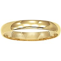 14kt Yellow Gold Wedding Band, 4mm