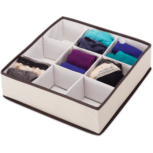 Whitmor Large Multi-Compartment Drawer Organizer