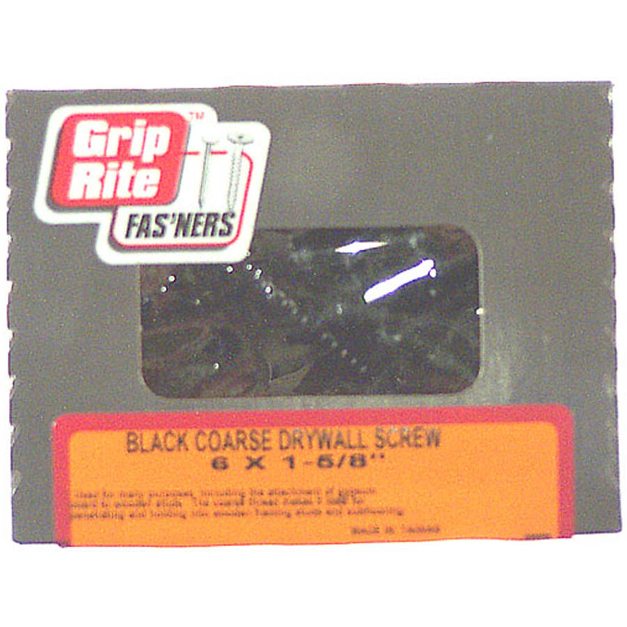 "Grip Rite 2CDWS1 1 Lb 2"" #2 Phillips Bugle Head Coated Drywall Screw"