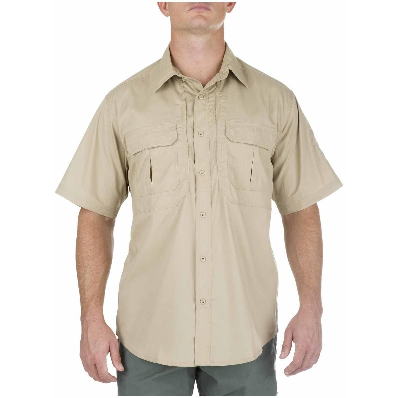 5.11 Tactical TacLite Professional Short Sleeve Shirt, Tall, TDU Khaki