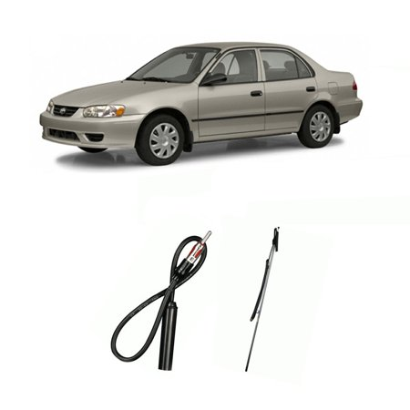 Toyota Corolla 1993-2002 Factory OEM Replacement Radio Stereo Custom Antenna ()