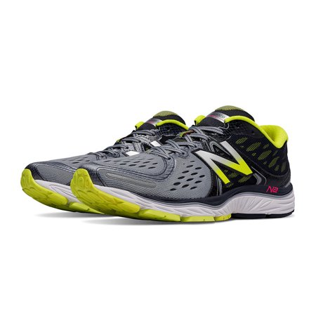 New Balance Men's 1260v6 Grey with Firefly - Firefly Shoes
