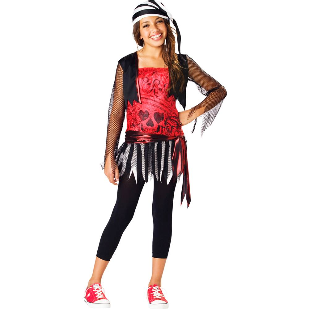 Pirate Lass Tween Kids Costume by
