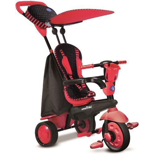 Smart-Trike 6751500 - Spark Touch Steering 4-in-1 Trike - Red