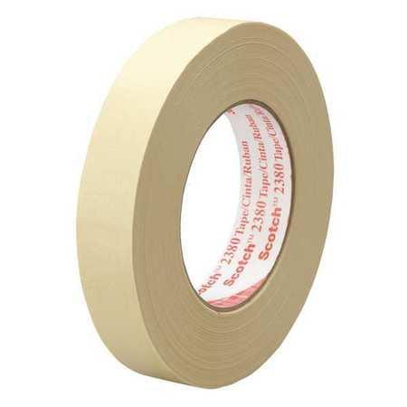 3M 2380 Masking Tape,72mm W,Tan,PK12 G7274447